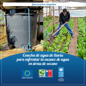 Cosecha de agua de lluvia para enfrentar la escasez de agua en áreas de secano