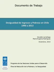 Desigualdad de ingresos y pobreza en Chile 1990-2013