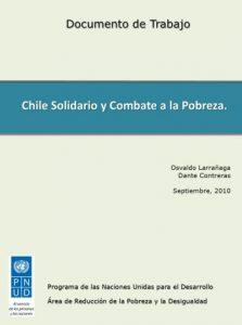 Chile Solidario y combate a la pobreza