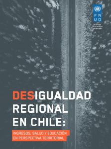 Desigualdad Regional en Chile: Ingresos, salud y educación en perspectiva territorial