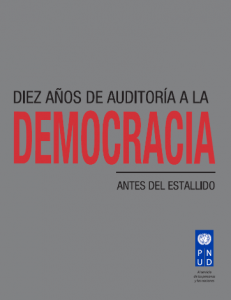 Diez años de auditoría a la democracia: Antes del estallido