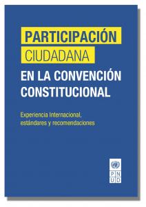 Participación Ciudadana en la Convención Constitucional:  Experiencia Internacional, estándares y recomendaciones