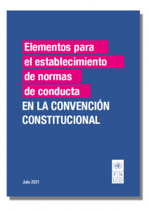 Elementos para el establecimiento de normas de conducta en la Convención Constitucional