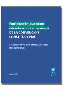 Participación Ciudadana durante el funcionamiento de la Convención Constitucional:  Financiamiento de distintas opciones metodológicas